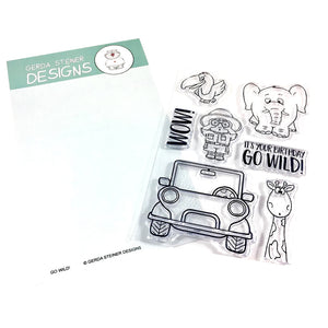 Go Wild! 4x6 Clear Stamp Set