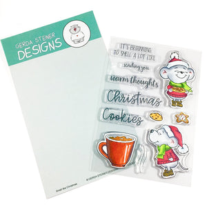 Smell like Christmas 4x6 Clear Stamp Set