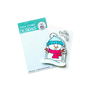 Little Snowman 2x3 Clear Stamp Set - Clearstamps - Clear Stamps - Cardmaking- Ideas- papercrafting- handmade - cards-  Papercrafts - Gerda Steiner Designs