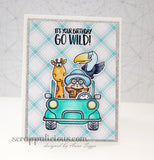Go Wild! 4x6 Clear Stamp Set with Dies Gerda Steiner Designs gsd-stamps crafting card making handmade scrapbooking
