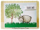 How are Ewe? 4x6 Clear Stamp Set - Clear Stamps - Papercrafts - Gerda Steiner Designs
