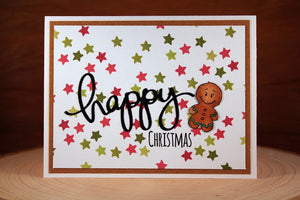 Holiday Friends 4x6 Clear Stamp Set - Clearstamps - Clear Stamps - Cardmaking- Ideas- papercrafting- handmade - cards-  Papercrafts - Gerda Steiner Designs