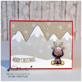 Holiday Friends 4x6 Clear Stamp Set - Clear Stamps - Papercrafts - Gerda Steiner Designs