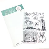 Hoppiness 4x6 Clear Stamp Set