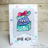 Monster Clear Stamp Set - Clear Stamps - Papercrafts - Gerda Steiner Designs