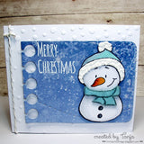 Snowman Friends 4x6 Clear Stamp Set - Clear Stamps - Papercrafts - Gerda Steiner Designs