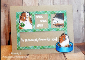 Wheek, wheek, wheek 4x6 Stamp Set