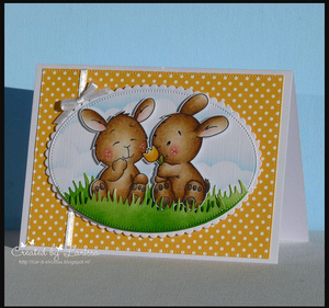 Spring Bunny Friends - Clearstamps - Clear Stamps - Cardmaking- Ideas- papercrafting- handmade - cards-  Papercrafts - Gerda Steiner Designs