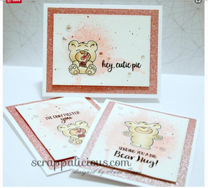 More than Pie 4x6 Clear Stamp Set - Clearstamps - Clear Stamps - Cardmaking- Ideas- papercrafting- handmade - cards-  Papercrafts - Gerda Steiner Designs