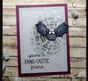 Bats 4x6 Clear Stamp Set - Clearstamps - Clear Stamps - Cardmaking- Ideas- papercrafting- handmade - cards-  Papercrafts - Gerda Steiner Designs