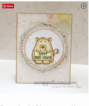 All Cats 4x6 Clear Stamp Set - Clearstamps - Clear Stamps - Cardmaking- Ideas- papercrafting- handmade - cards-  Papercrafts - Gerda Steiner Designs