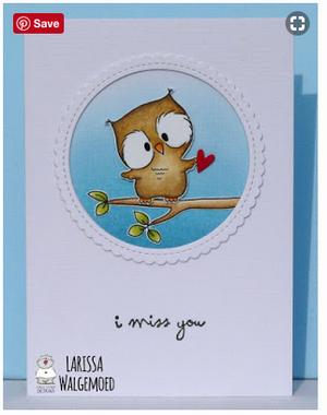 Owl Rather Be With You 4x6 Clear Stamp Set - Clearstamps - Clear Stamps - Cardmaking- Ideas- papercrafting- handmade - cards-  Papercrafts - Gerda Steiner Designs