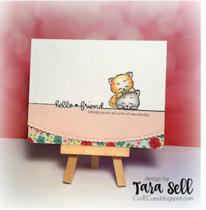 Playful Kitten 4x6 Clear Stamp Set - Clearstamps - Clear Stamps - Cardmaking- Ideas- papercrafting- handmade - cards-  Papercrafts - Gerda Steiner Designs