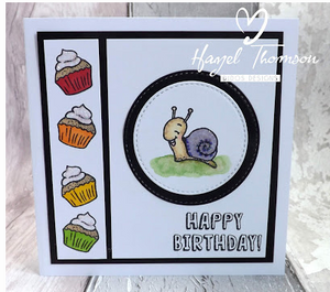 Turtley Great 4x6 Clear Stamp Set