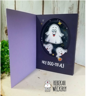A Boo For You 3x4 Clear Stamp Set - Clearstamps - Clear Stamps - Cardmaking- Ideas- papercrafting- handmade - cards-  Papercrafts - Gerda Steiner Designs
