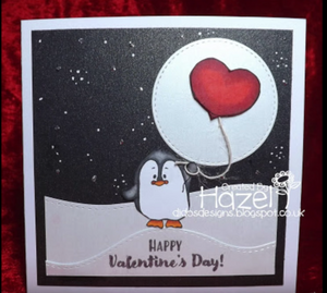 Valentine Penguins 4x6 Clear Stamp Set - Clearstamps - Clear Stamps - Cardmaking- Ideas- papercrafting- handmade - cards-  Papercrafts - Gerda Steiner Designs