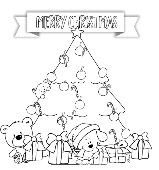 Christmas Tree - 5x7 Printable