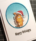 Christmas Hat - Free Digital Stamp