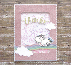 Moody Unicorns 4x6 Clear Stamp Set - Clearstamps - Clear Stamps - Cardmaking- Ideas- papercrafting- handmade - cards-  Papercrafts - Gerda Steiner Designs