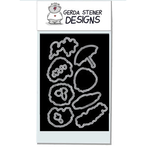 Cheerful Hedgehog 4x6 Die - Clearstamps - Clear Stamps - Cardmaking- Ideas- papercrafting- handmade - cards-  Papercrafts - Gerda Steiner Designs