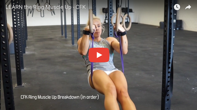 Ring Muscle Up Progressions With Meg Cox