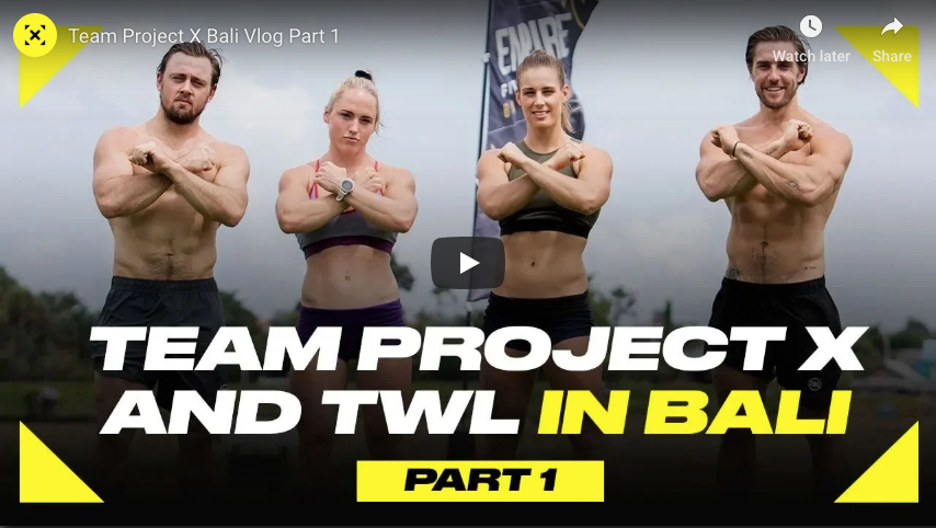 TWL + Team Project X in Bali