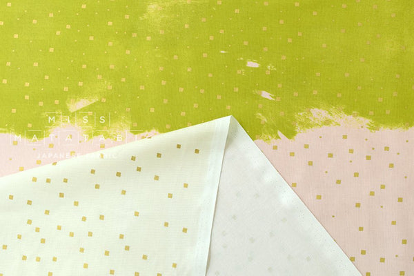 Cotton + Steel Jubilee - confetti - yellow