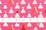 Cotton + Steel Jubilee - dress up - pink - fat quarter