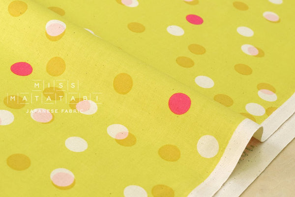 Cotton + Steel Jubilee - party light - yellow - fat quarter