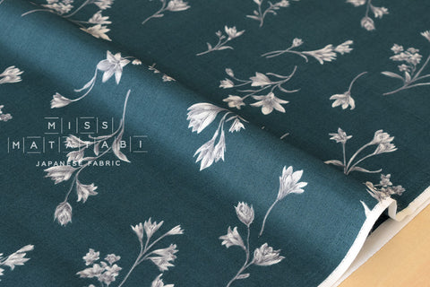 Minimal foliage - cotton lawn