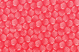 Lecien Old New 30s Collection Strawberries - red, cream - fat quarter