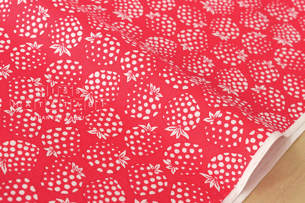 Lecien Old New 30s Collection Strawberries - red, cream