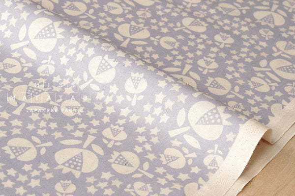Cotton + Steel Flower Shop - thistle - sky - fat quarter