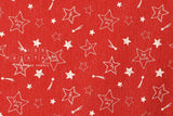 Lecien starry sky - red