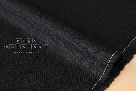Wool Twill - black