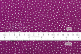 Snowfall voile - magenta