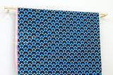 Cotton + Steel Beauty Shop - shower cap - navy - fat quarter