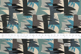 Grass - blue, sage, grey - fat quarter