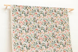 Cotton + Steel Amalfi canvas - herb garden natural