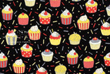 Party cupcakes - black