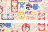 Kei Fabric Miyako Dogs of Japan - A