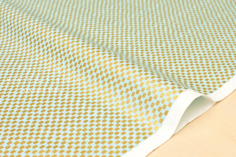 Cotton + Steel Amalfi - mint metallic - fat quarter