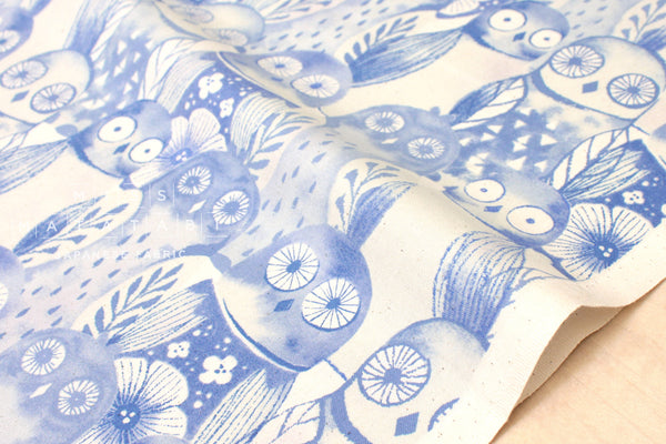 Cotton + Steel Firelight - wise owls - lilac - fat quarter