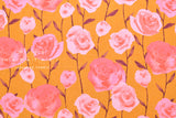 Cotton + Steel Firelight - roses - caramel - fat quarter