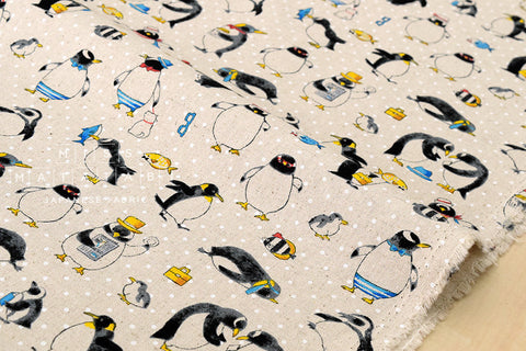 Busy Penguin canvas