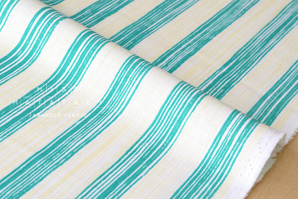 Kokka - Tomotake Muddy Works - stripe stripe - A