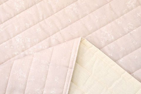 Nani Iro suzuran field quilted double gauze - Lille