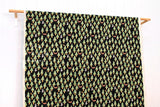 Kokka nishi shuku - forest - black, green - fat quarter