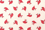 Kerchief Girls - Red - fat quarter