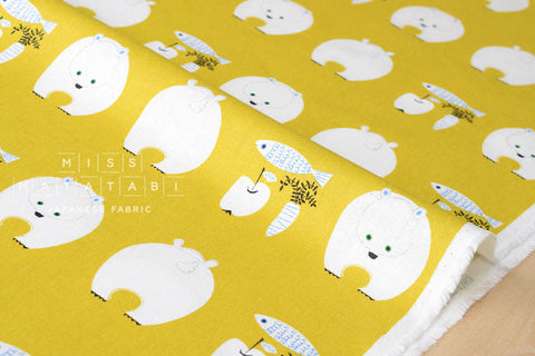 Putidepome - polar bear lunch - yellow